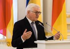 Frank-Walter Steinmeier royalty-vrije stock foto