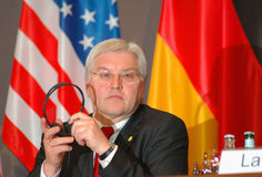 Frank Walter Steinmeier Royalty Free Stock Photo