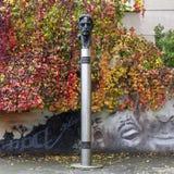 Frank Zappa statue Royalty Free Stock Photos