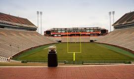 Clemson universitetarfotbollsarena Fotografering för Bildbyråer
