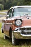 Franken, Alemania, el 21 de junio de 2015: Detalle delantero de un vint de Chevrolet Fotos de archivo libres de regalías