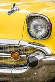 Franken, Alemania, el 21 de junio de 2015: Detalle delantero de un vint de Chevrolet Imágenes de archivo libres de regalías