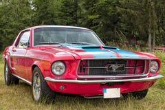 Franken, Germany, 21 June 2015: American vintage car, close-up Stock Photo