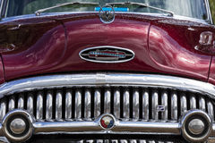 Franken, Germany, 21 June 2015: Front detail of a Buick vintage Stock Photo