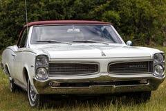 Franken, Germany, 21 June 2015: Front detail of a Pontiac vintag Royalty Free Stock Image