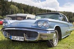 Franken, Germany, 18 June 2016: Front detail of a US vintage car Stock Photography