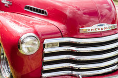 Franken, Germany, 18 June 2016: Front view of a Chevrolet vintag Royalty Free Stock Images