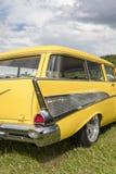 Franken, Germany, 18 June 2016: Rear detail of a US vintage car Royalty Free Stock Images