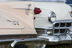 Franken, Germany, 21 June 2015: Rear detail of a vintage car Royalty Free Stock Photography