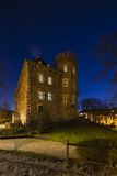 Frankenberg Castle At Night, Aachen Royalty Free Stock Photo