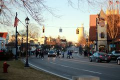 Frankenmuth, Detroit, Michigan, de V.S. stock fotografie