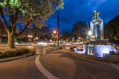 Frankenmuth fontanna Obraz Royalty Free