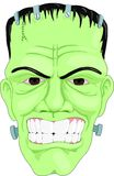 Frankenstein. Mask stock illustration
