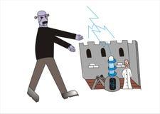 Frankenstein ilustracji
