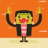 Frankenstein stock illustratie