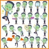 Frankenstein 2 stock illustratie