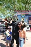 Frankenstein agli studi universali Hollywood Fotografie Stock