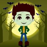 Frankenstein Boy Stock Images