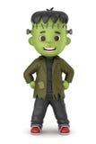 Frankenstein Boy Royalty Free Stock Images