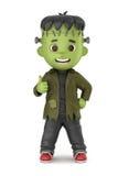 Frankenstein Boy Stock Photography