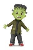 Frankenstein Boy Royalty Free Stock Photos