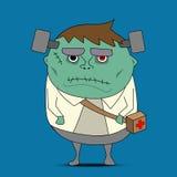 Frankenstein cartoon vector Stock Photography
