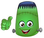 Frankenstein emoticon Royalty Free Stock Photos
