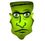 Frankenstein Face Clip Art Stock Images