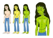 Frankenstein Halloween Character. Stock Photo