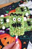 Frankenstein Halloween Treats Royalty Free Stock Image
