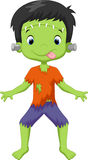 Frankenstein kid Royalty Free Stock Images