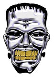Frankenstein Monster Drawing Royalty Free Stock Photos