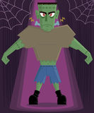 Frankenstein Monster halloween character vector Stock Photography