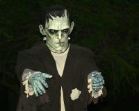 frankenstein potwór s Obrazy Royalty Free