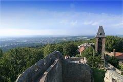 frankenstein s замока Стоковые Изображения