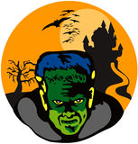 Frankenstein's monster Royalty Free Stock Images