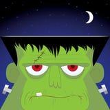 Frankenstein's potwór royalty ilustracja