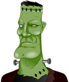 Frankenstein. Vector illustration of evil Frankenstein Monster Stock Photo