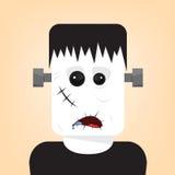 Frankenstein. Vector illustration of Frankenstein for Halloween Stock Photos