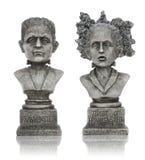 frankensteinhalloween statyer Royaltyfri Bild