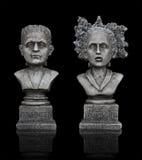 frankensteinhalloween statyer Royaltyfri Foto