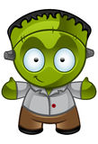 Frankensteins monster - leende Arkivfoton