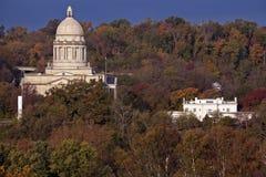 Frankfort, Kentucky - construção do Capitólio do estado Fotografia de Stock