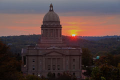 Frankfort, Kentucky - Stan Capitol Budynek Zdjęcia Royalty Free