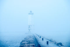 Frankfort Lighthouse, Michigan Stock Image