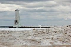 Frankfort  Lighthouse Stock Image