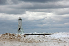 Frankfort  Lighthouse Royalty Free Stock Images