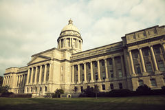 Frankfort - State Capitol Building Stock Images