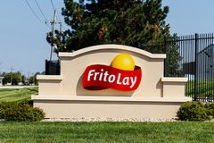 Frankfort - vers en août 2018 : Usine de casse-croûte de Frito-configuration La Frito-configuration est une filiale de PepsiCo qu photos stock
