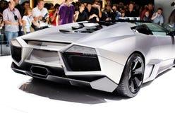 FRANKFURT - 15 SEP: Één van twintig Lamborghini Reve Stock Fotografie